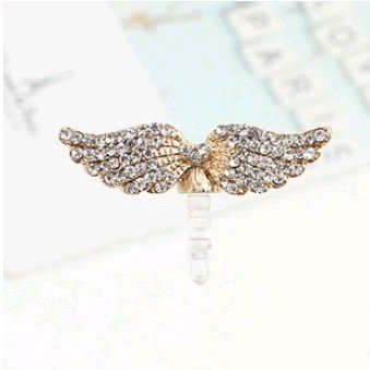 MINI ORDER USD10(mixed) Free shipping Earphone Ear Cap Dock ANGLE WING Dust Plug  for SUMSANG HTC IPHONE