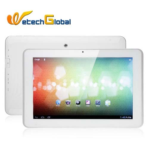 Ampe A10 Dual Core 3G WCDMA GPS Tablet PC 10.1 Inch MSM8625 Android 4.0 IPS Screen 1G 4G Support Phone Calling
