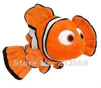 "Free Shipping Pixar Movie Finding Nemo 9"" Cute Clown Fish Stuffed Animal Retail"