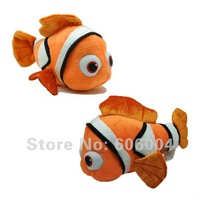 Free Shipping EMS 50/Lot Finding Nemo Cute Pixar Movie Clown Fish Stuffed Toy Wholesale