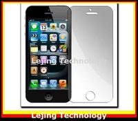 free shipping 10pcs/lot matte screen protector for iPhone 5 front screen protective film anti-glare NO retail package