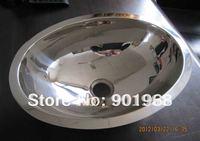 stainless steel bathroom oval wash sink wash bowl wash basin