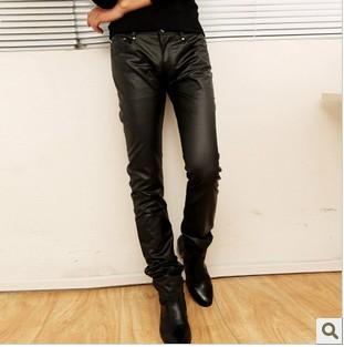 NRYG 2012 clothing tight font b leather b font font b pants b font coating rivet Meet the gay teen character on Ryan Murphy's ...