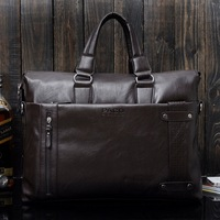 Free shipping PACD men's leather bag, shoulder bag for laptop,ipad,tablet PC, quality leather and fashion design