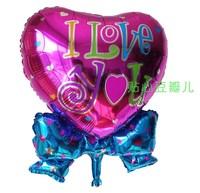 Birthday party decoration ultralarge dolphin laciness heart aluminum balloon wedding decoration