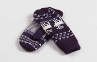 [Vic] 10pair/lot MITTENS KNIT Women's Winter Gloves Cartoon design more colors , Wholesale ST025, Free Shipping