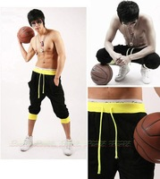 NEW Men Women Unisex Casual Atheletic Sporty Baggy Harem Capri Pirate Shorts Short Trousers Joggers Bottoms