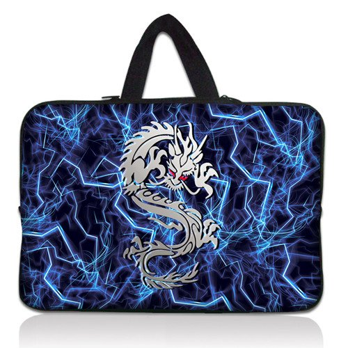 17&quot; Dragon Laptop Netbook Sleeve Bag Case +Hide Handle For 17.3&quot; HP Pavilion dv7 handbag(China (Mainland))