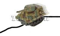 2 pcs /lot pen toy car electric Magic Inductive Fangle mini Tank toys run following the line you draw