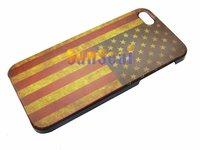USA UK Brail Flag Hard Case For Iphone 5 5S  30pcs/lot