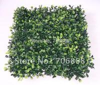 Artificial plastic boxwood mat 10''*10'' square