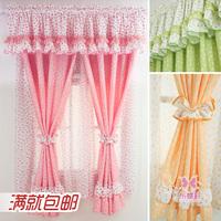 children's rustic cloth short curtain customize summer fairy kids curtains,L056