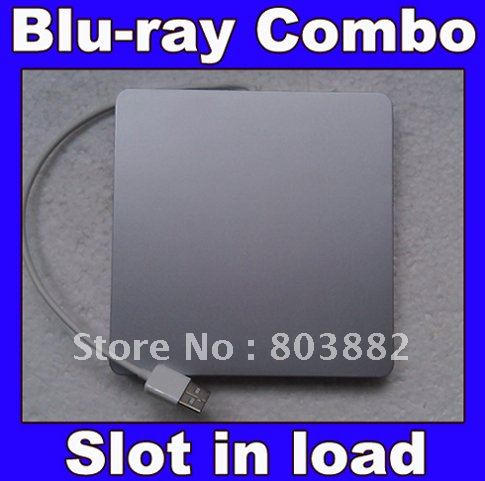 External USB 2.0 Slim slot in load Blu ray combo Writer DVD BURNER(China (Mainland))
