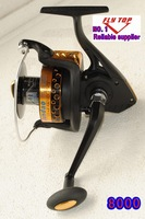 CRAZY PRICE Biggest reels 8000size  Spinning  fishing reels,surf reels   7+1BB