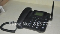 SIM card GSM fixed wireless desktop phone with SMS function