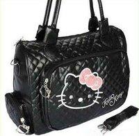 Hello Kitty Leather Like Handbag Shoulder Bag Tote  B5012   Free shipping