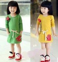 Юбка для девочек 4pcs/lot hot selling baby girls gauze skirt sweet bows mini skirt kids tutu pettiskirt ball gown children clothing
