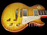 wholesale Custom 1960 Reissue VOS Top Iced Tea Burst Electric guitar Free shipping