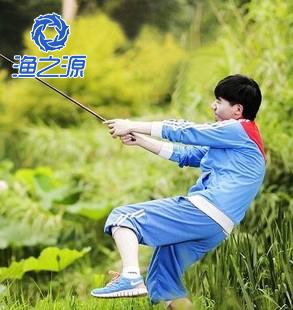 Grey fishing rod 4.5 meters carbon ultra-light ultrafine streams pole fishing rod hand pole