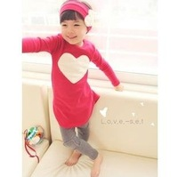 Wholesales 5 Sets Kids Clothing Set Baby Girl's Sports Suit Hood+Shirt+Pant Suit for Sports