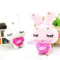 Onrabbit gift lovers love rabbit doll rabbit plush toy
