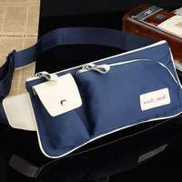 strap canvas male waist pack male chest pack fashion man bag outdoor