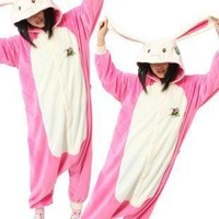 Rabbit sleepwear cartoon lovely