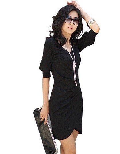 Короткое Черное Платье С Доставкой