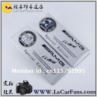 Aluminum Alloy Badges Emblem  AMG Tree  Edition FOR benz car body sticker