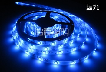 Wholesale - On Sales!!!3528 RGB 300 LEDs 5M Flexible SMD Strip Lights + 44IR Remote Controller CAR DIY