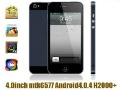 Hero H2000+ MTK6577 4.0 Inch Screen 1.0G Dual Core Android 4.0 OS in stock now
