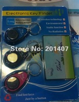 2012 hot sale 5pcs /lots Electronic Key Finder with three  Receiver  wholesale  free shipping cost
