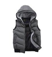 2012 New Arrival Multi-Color Autumn Winter Rib Sleeveless Men Fashion Hoody Duck Down Coat Reflective Jacket Vest Warm MC0810