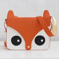 Circleof bag 2012 cartoon all-match color block one shoulder cross-body small fox women's candy bags