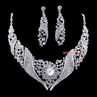 Free Shipping Alloy chain sets bridal accessories jewelry accessories necklace tl220