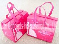 Free Shipping DIY Wedding Candy Gift Box Party Favor Packaging - 11 x 7 x 8.5cm 110pcs/lot LWB0073