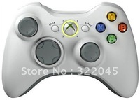 Free Shipping White Wireless 10 Mode Wireless Rapid Fire Controller for xbox 360 hot selling