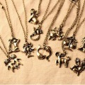 Vintage Twelve Constellations Pendant Necklaces-Free Shipping