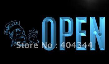 LK868- OPEN Pizza Cafe Shop Restaurant Neon Light Sign   hang sign home decor shop crafts led sign