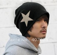 Free shipping! wholesale or Retail 2012 Tops for Winter five-pointed star hip-hop hats men head gear cotton hiphop caps 335