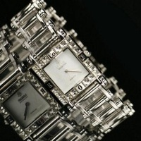 100% Authentic LOBOR brand Square shape full crystal silber color business men watch Factory Outlet/LB-6019M