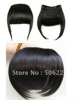 Clip In Hair Bangs 100% Human Hair Fringes mixed order, black brown blonde bangs hair fringes