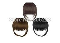 Clip In Human Hair Bangs  Human clip on Hair Fringes mixed black brown blonde bangs hair fringes
