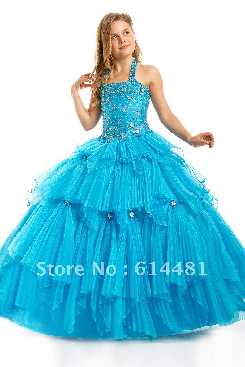 Sky Blue Lovely Princess