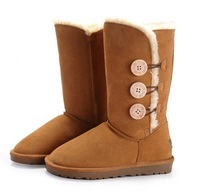 Christmas Promotion !!! wome's popular 1873 snow boots in hot selling,leather snow boots with excellent quality,5 colors,36--41