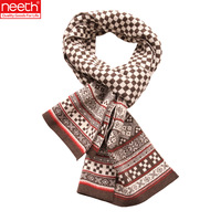 2012 autumn and winter wool plaid gift box male scarf male scarf