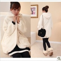 2012 female woolen outerwear autumn and winter overcoat short design women's slim sweatshirt outerwear