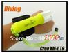 1300 Lumens Cree T6 LED  Diving Flashlight  Diving  Torch Waterproof  Free Shipping