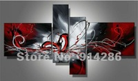 100%Handpainted abstract painting adornment painting oil painting Music instruments / Music instruments/Music symbol