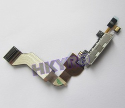 Dock Port Charger Connector Ribbon flex cable for iPhone 4S 4GS D0118(China (Mainland))